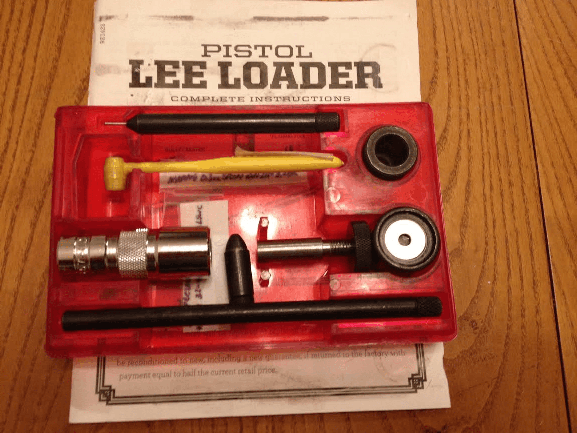 the best pistol ammo re-loader for beginners
