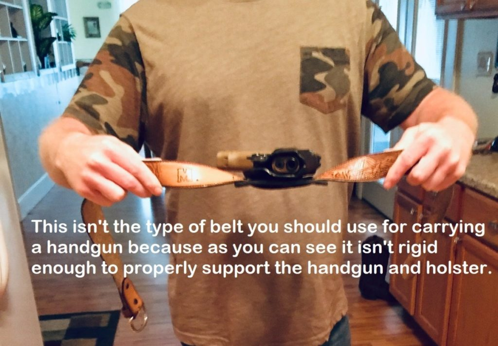 what is a concealed carry belt