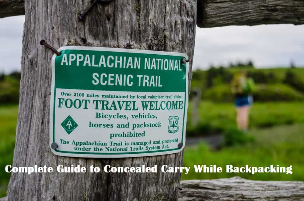 Appalachian National Scenic Trail Sign