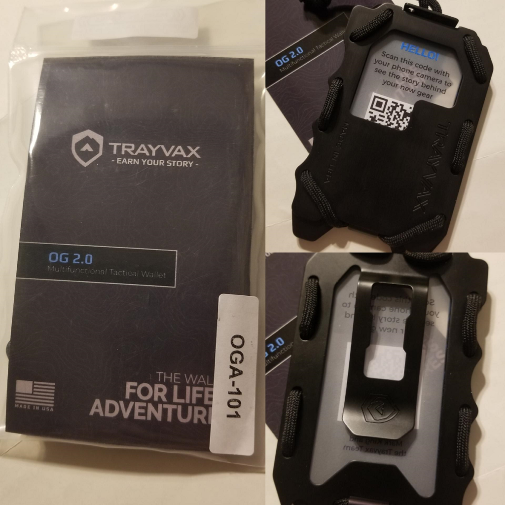Trayvax Original 2.0 Wallet review