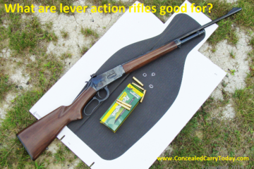 what are lever action rifles good for